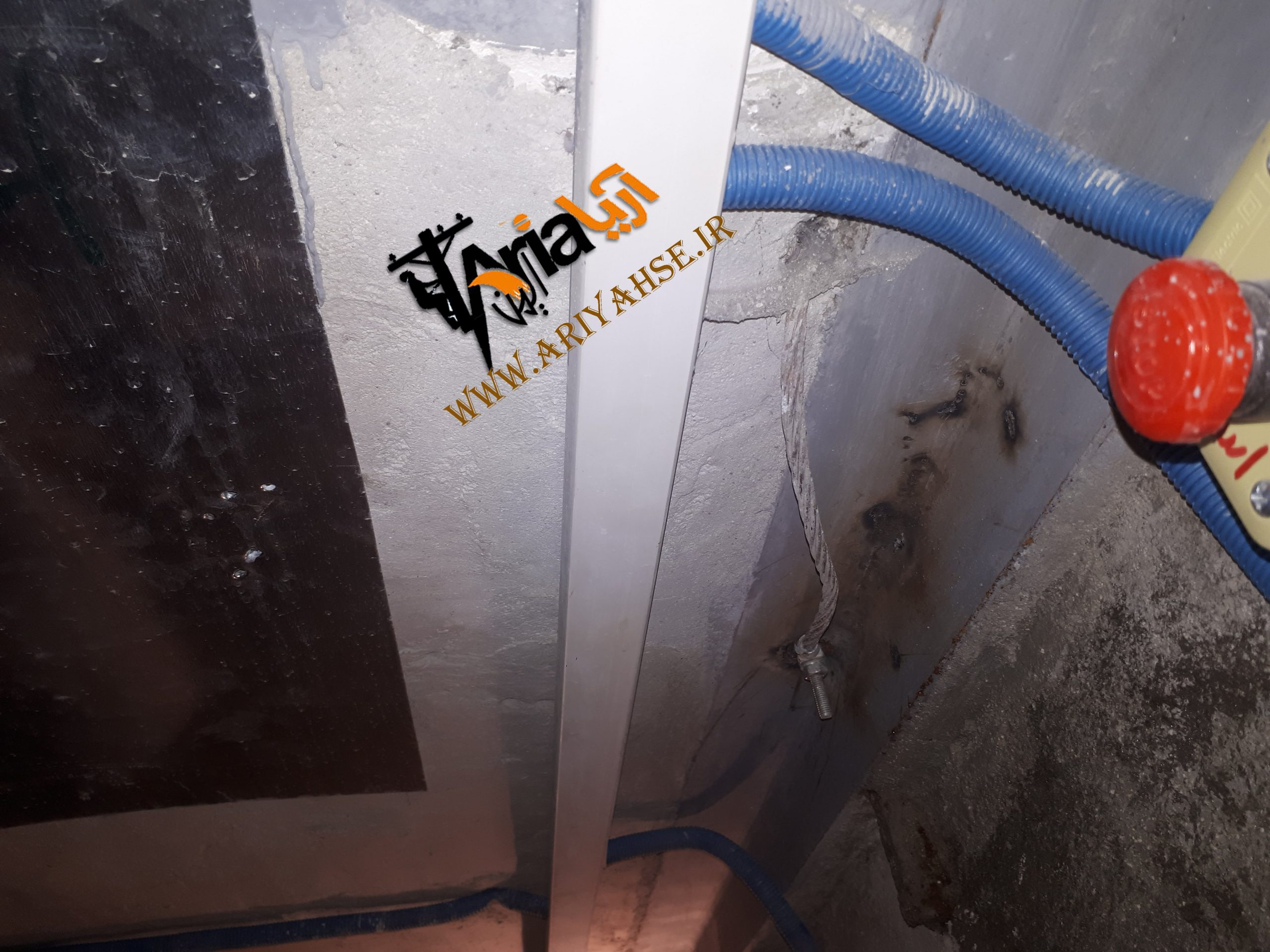 اتصال آسانسور به چاه ارت